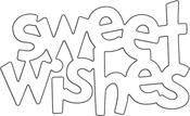 """Sweet Wishing 2.25""""X1.38"""" - Penny Black Creative Dies"""