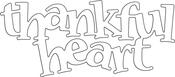 Thankful Heart - Penny Black Creative Dies
