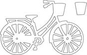 Bicycle - Penny Black Creative Dies