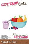 """Yogurt & Fruit, 1"""" To 1.7"""" - CottageCutz Die"""