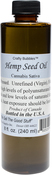 Hemp Seed Oil 8oz