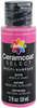 Shocking Pink - Ceramcoat Select Multi-Surface Paint 2oz Plaid:Delta-Ceramcoat Select Multi Surface Paint. Use on almost any surface including glass, ceramic, wood, tin, fabric, rigid plastic and much more! Ceramcoat Select Multi Surface Paint has the highest quality satin finish available. Weather-resistant. This package contains one 2oz bottle of ceramcoat select multi-surface paint. Comes in a variety of colors. Each sold separately. Conforms to ASTM D 4236. Dishwasher safe. Made in USA.