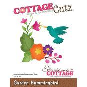 Garden Hummingbird CottageCutz Die
