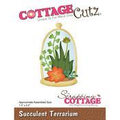 Succulent Terrarium CottageCutz Die