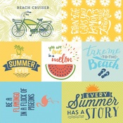 Summertime Five Paper - Authentique