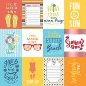 Summertime Six Paper - Authentique