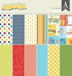 Summertime 12 x 12 Paper Pad - Authentique - PRE ORDER