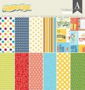 Summertime 12 x 12 Paper Pad - Authentique