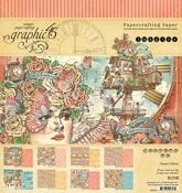 Imagine 8 x 8 Paper Pad - Graphic 45