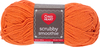 Brite Orange - Red Heart Scrubby Smoothie Yarn Ultra soft and smooth cotton yarn perfect for more than dishcloths! Great for bags, accessories and fashion. Weight category: 4. Content: 100% cotton. Putup: 3.5oz/100g, 153yd/140m (solid), 3oz/85g, 131yd/120m (striped). Gauge: 12sx15r = 4in/10cm on size US8/5mm knitting needles. Suggested crochet hook size: I-9/5.5mm. Dyelotted: we try but are not always able to match dyelots. Care: machine wash, machine dry, do not iron, do not bleach. Comes in a variety of colors. Each sold separately. Imported.