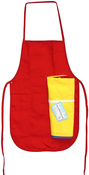 "Multicolor - Child Apron Value Pack 12""X19"" 3/Pkg"