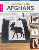 Wildlife Cable Afghans - Leisure Arts