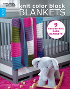 Knit Color Block Blankets - Leisure Arts