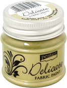 White Gold - Delicate Fabric Paint 50ml