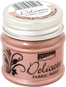 Rose Gold - Delicate Fabric Paint 50ml