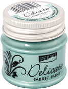 Greenish Silver - Delicate Fabric Paint 50ml