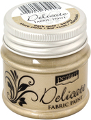 Dark Gold - Delicate Fabric Paint 50ml