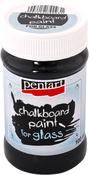 Black - Chalkboard Paint For Glass 100ml