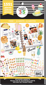 Food, 1551/Pkg - Happy Planner Sticker Value Pack