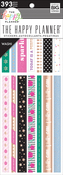 Girly, 393/Pkg - Happy Planner Washi Sticker Book