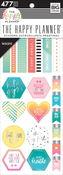 Fitness, 477/Pkg - Happy Planner Washi Sticker Book