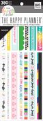 Bible Journaling, 380/Pkg - Happy Planner Washi Sticker Book