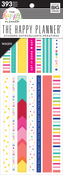 Brights, 393/Pkg - Happy Planner Washi Sticker Book