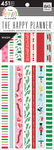Seasonal, 451/Pkg - Happy Planner Washi Sticker Book