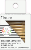 Gold - Happy Planner Metal Expander (Big) Discs 11/Pkg