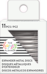 Silver - Happy Planner Metal Expander (Big) Discs 11/Pkg