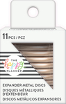 Rose Gold - Happy Planner Metal Expander (Big) Discs 11/Pkg