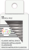 Silver - Happy Planner Medium Metal Expander Discs 11/Pkg