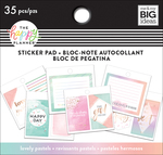 Lovely Pastels, 35/Pkg - Happy Planner Tiny Sticker Pad