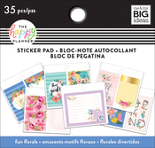Fun Florals, 35/Pkg - Happy Planner Tiny Sticker Pad