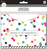 Multi Dot - Happy Planner Big/Medium Adhesive Pockets 3/Pkg