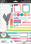 Life Is Lovely, 157/Pkg - Happy Planner Big Accessories