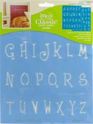 "Whimsical Delight, 2 Sheets/Pkg - Americana Alphabet Stencils 8.5""X11"""