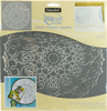 Doily - Americana Mixed Media Stencil 12 X12  Create timeless furniture and home decor pieces with these flexible stencils made for durability and ease of use with either paints or texture products. This package contains one 12x12 inch stencil. Imported.