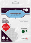Scrapbook Adhesives 3D Foam Circles - White