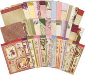Hunkydory Birth Flowers Luxury A4 Topper Collection