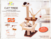 Brown - Cat-Life Cat Scratcher With Stable Locking System
