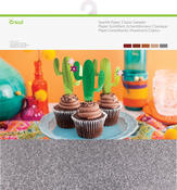 "Classic-Assorted - Cricut Sparkle Paper Sampler 12""X12"""
