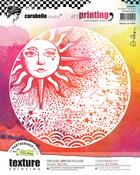 Sunbeam - Carabelle Studio Art Printing Round Rubber Texture Plate
