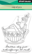 Cup Of Java - Penny Black Clear Stamps