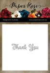 Thank You - Paper Rose Dies