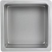"Square 8""X8""X4"" - Aluminum Cake Pan"