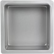 "Square 10""X10""X4"" - Aluminum Cake Pan"