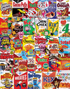 "Cereal Boxes - Jigsaw Puzzle 1000 Pieces 24""X30"""