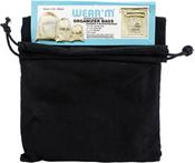 Black - Organizer Bag W/Drawstring 3/Pkg