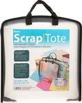 Plastic Scrap Tote W/Pockets